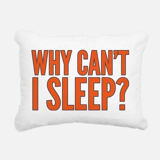 Unique Insomnia Rectangular Canvas Pillow