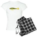 Mbu Giant Freshwater Puffer fish Pajamas