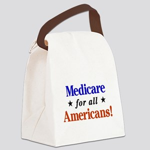 Medicare For All Americans Canvas Lunch Bag
