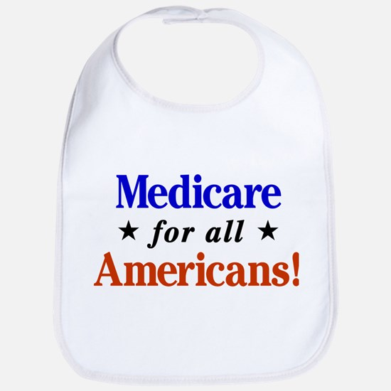 Medicare for all Americans Baby Bib