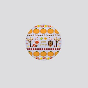 AUTUMN BLESSINGS Mini Button