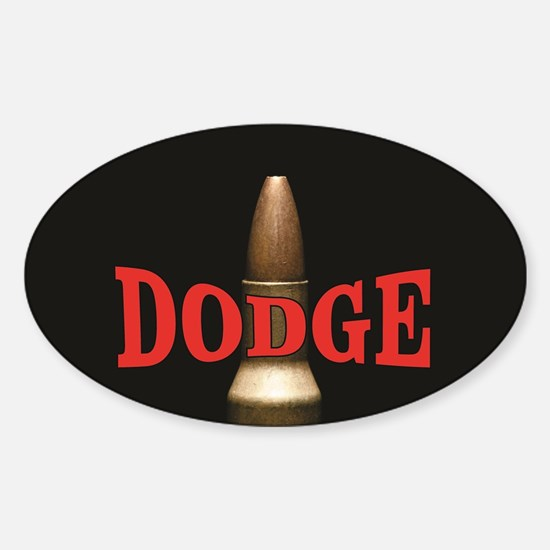 dodge bullet red Decal