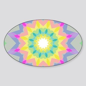 Kaleidoscope Heart Pattern Sticker