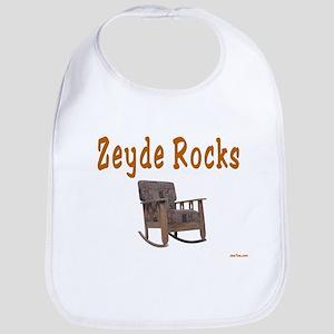 FUNNY YIDDISH ZEYDE ROCKS Bib