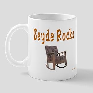FUNNY YIDDISH ZEYDE ROCKS Mug