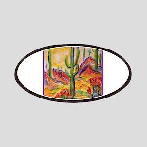 Saguaro Cactus, desert Southwest art! Patch
