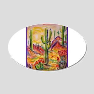Saguaro Cactus, desert Southwest art! Wall Decal
