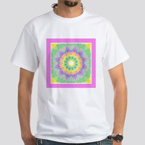 Kaleidoscope Heart Pattern T-Shirt