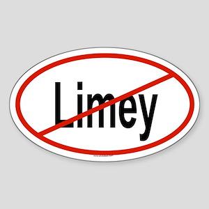 LIMEY Oval Sticker