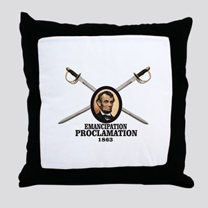 blades crossed freedom Throw Pillow