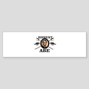 honest abe cannon Bumper Sticker