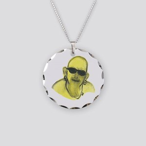 Yellowman Necklace Circle Charm
