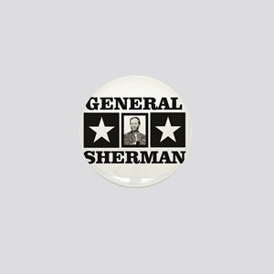 general sherman stars Mini Button