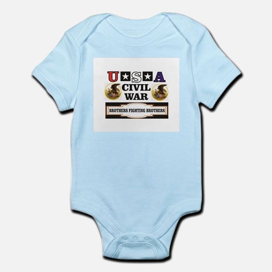 USA Brothers fighting brothers Body Suit