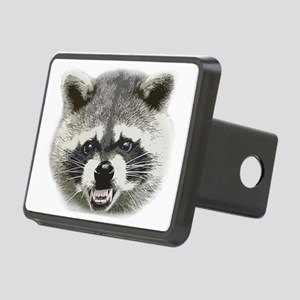 Happy Raccoon Rectangular Hitch Cover