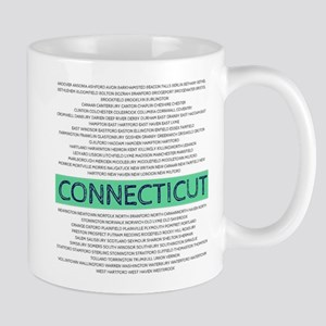 Connecticut Towns Mugs