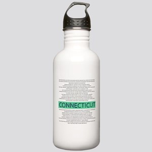 Connecticut Towns Stainless Water Bottle 1.0L