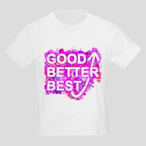 Good, Better, Best (Ink Spots) (Pink) T-Shirt