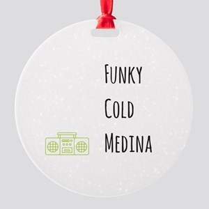 Funky Round Ornament