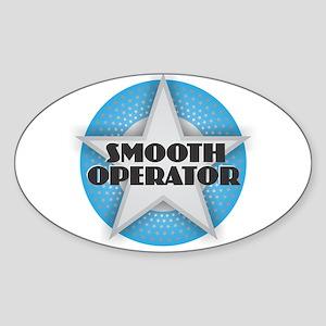 Smooth Operator - Star Sticker