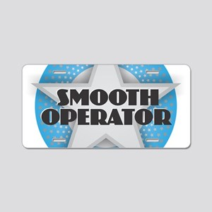 Smooth Operator - Star Aluminum License Plate