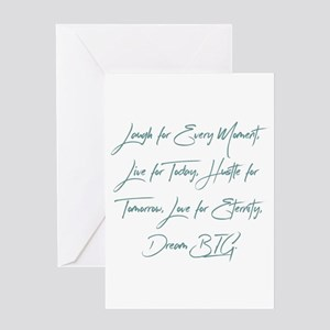 From Moments To Eternity Greeting Cards