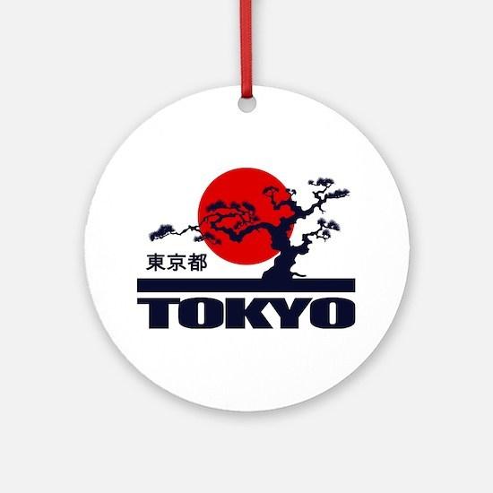 Tokyo 2 Round Ornament