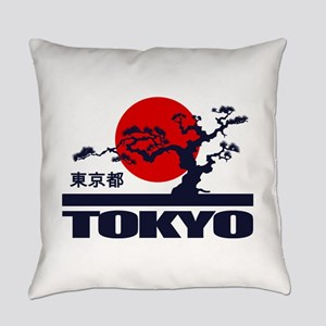 Tokyo 2 Everyday Pillow