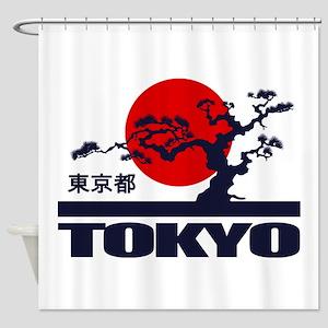Tokyo 2 Shower Curtain