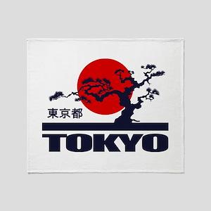 Tokyo 2 Throw Blanket