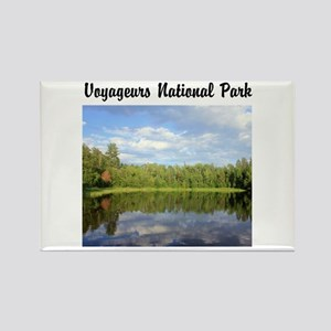 Voyageurs National Park Rectangle Magnet Magnets