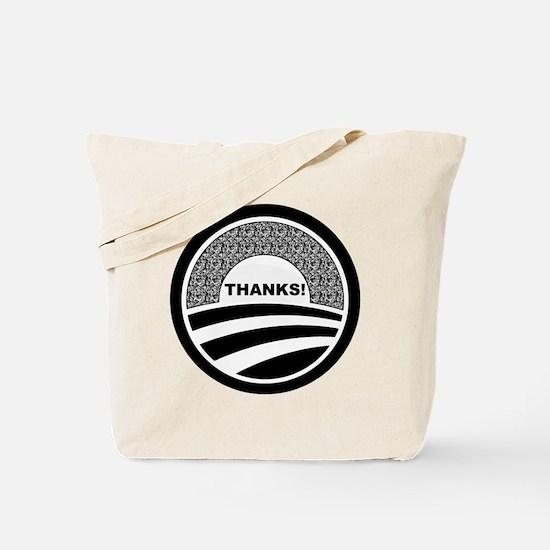 Unique Obama supporters Tote Bag