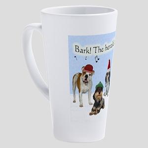 Bark The Herald Angels Sing 17 oz Latte Mug