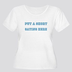 TYPE YOUR OWN Women's Plus Size Scoop Neck T-Shirt
