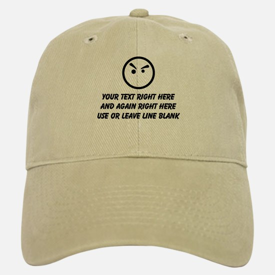 TYPE YOUR OWN WORDS HERE & PERSONALIZE IT! Baseball Baseball Cap