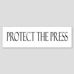 Protect the Press Sticker (Bumper)