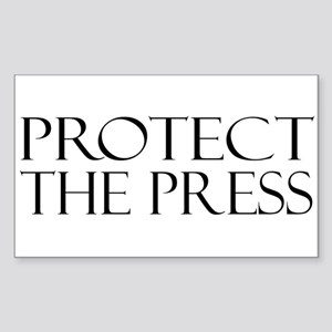 Protect the Press Sticker (Rectangle)