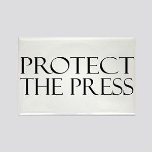 Protect the Press Rectangle Magnet