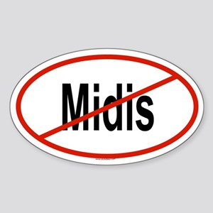 MIDIS Oval Sticker