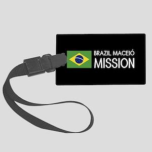Brazil, Maceió Mission (Flag) Large Luggage Tag