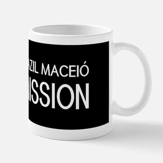 Brazil, Maceió Mission (Flag) Mug