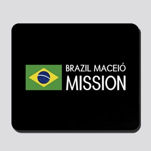 Brazil, Maceió Mission (Flag) Mousepad