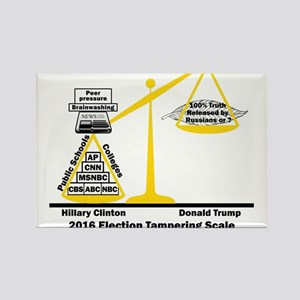 Actual Election Tampering Rectangle Magnet