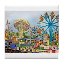 Adventureland Tile Coaster