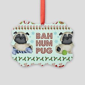 BAH HUM PUG Ornament