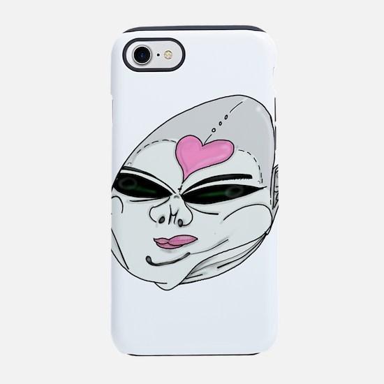 Alien chubby girl iPhone 8/7 Tough Case