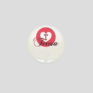 teresa Mini Button
