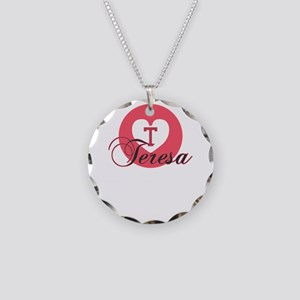 teresa Necklace Circle Charm