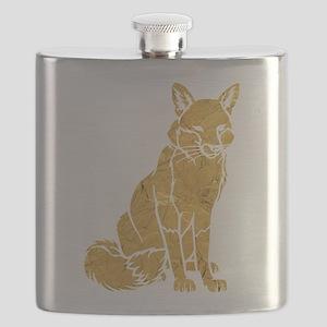 Golden Fox Flask