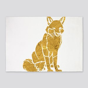 Golden Fox 5'x7'Area Rug